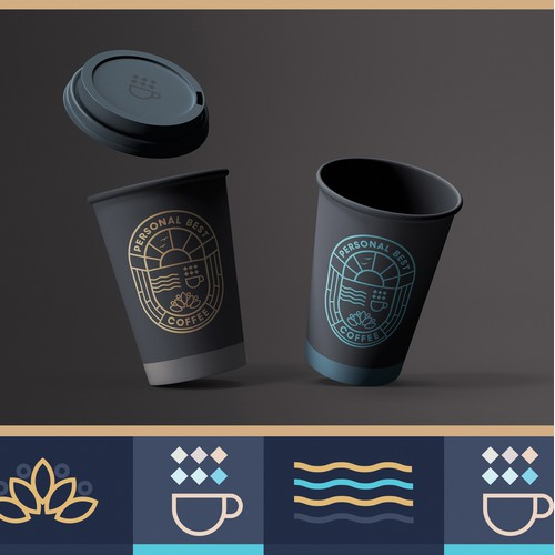 Personal Best Coffee - Brand Design