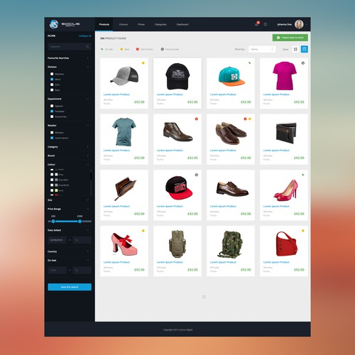Online Shopping Mall Design Concept