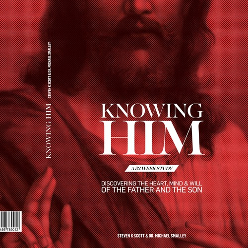 "Book design ""Knowing Him"""