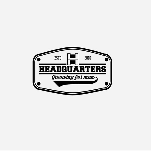 Headquarters Barbershop Logo