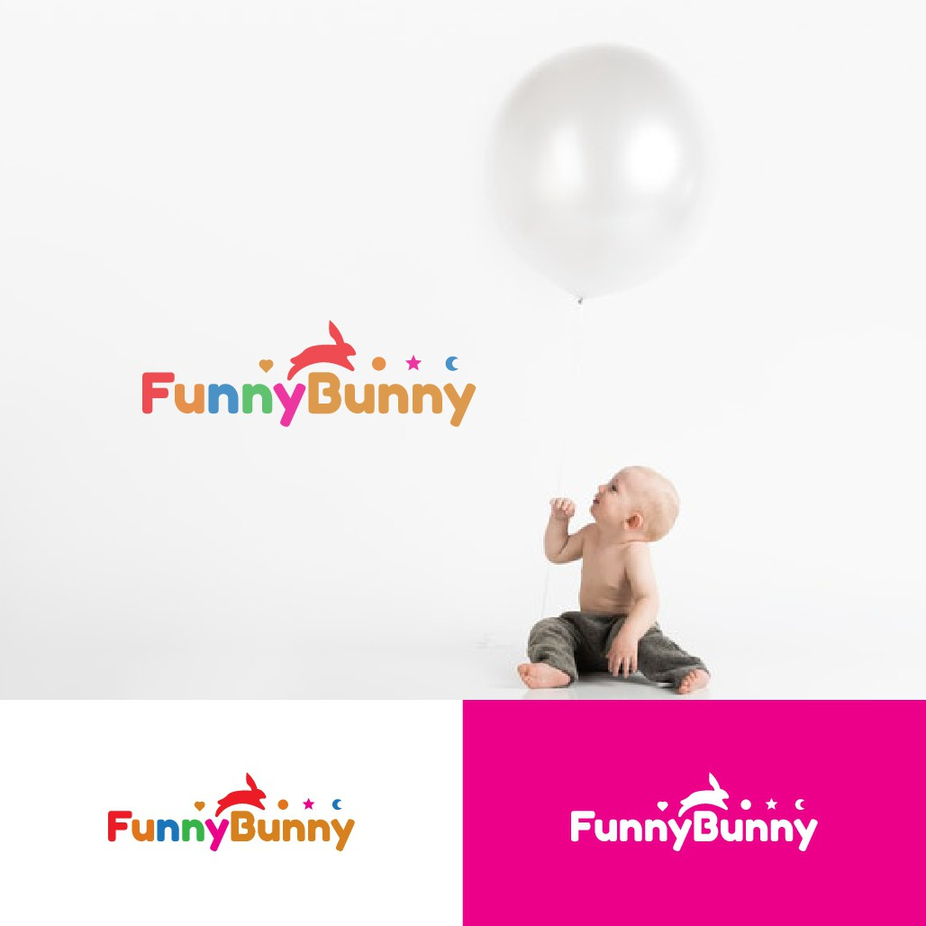 Design a powerful logo for a baby/kids online store