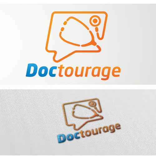 Doctourage  needs a new logo