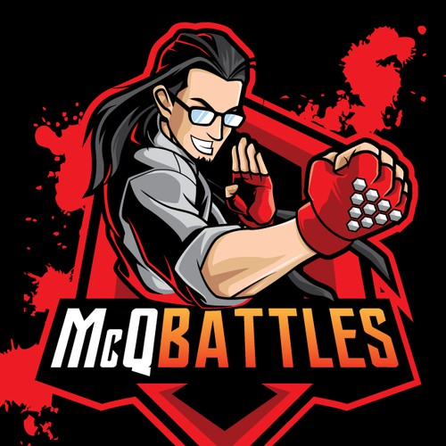 youtube channel logo for mcqbattles