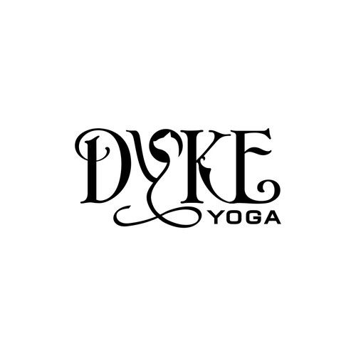 Unconventional Logo for Yoga Trainer