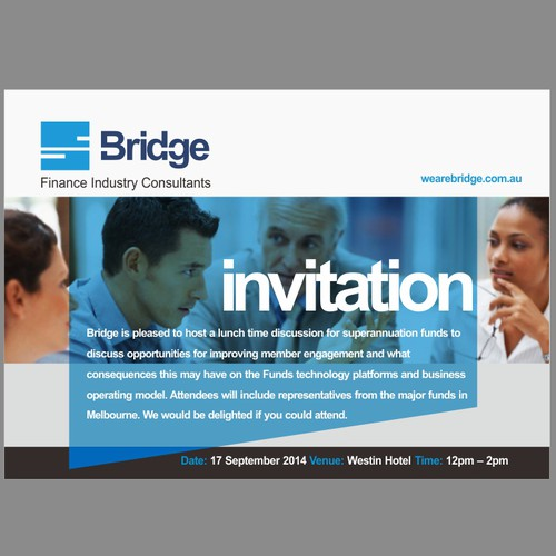 Invitation to an industry event