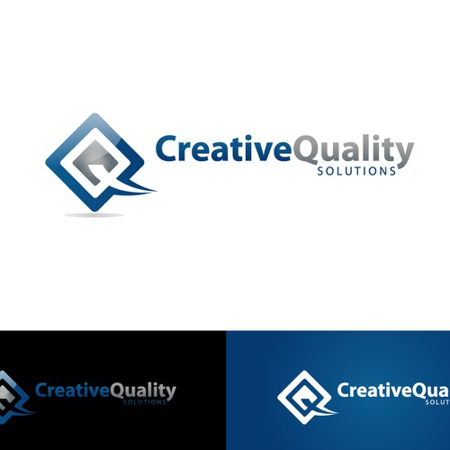 Create the next logo for Creative Quality Solutions