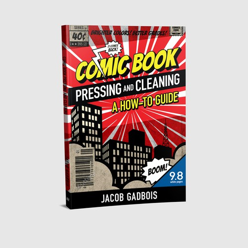 Comic Book Pressing and Cleaning. A How-To Guide