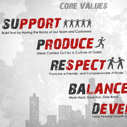Core values design