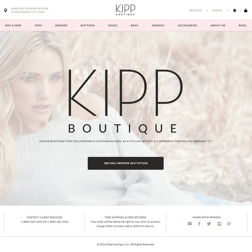e-commerce for sophisticated Online Women's Fashion Boutique
