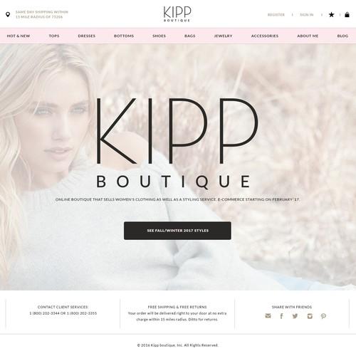 e-commerce for sophisticated Online Women's Fashion Boutique