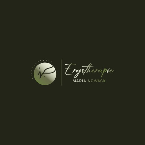 Ergotherapie Maria Nowak - therapist logo design