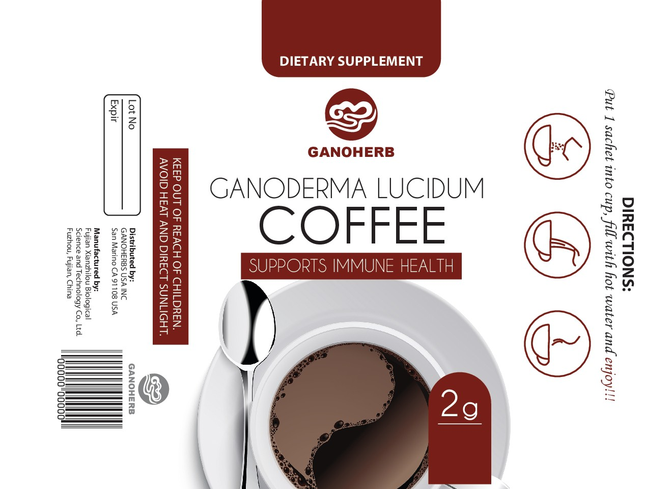 Create an exciting new packaging for a brand new coffee with amazing health benefits!!!