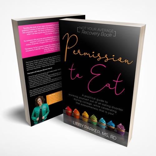 Book cover for practical guide to get out of eating disorder