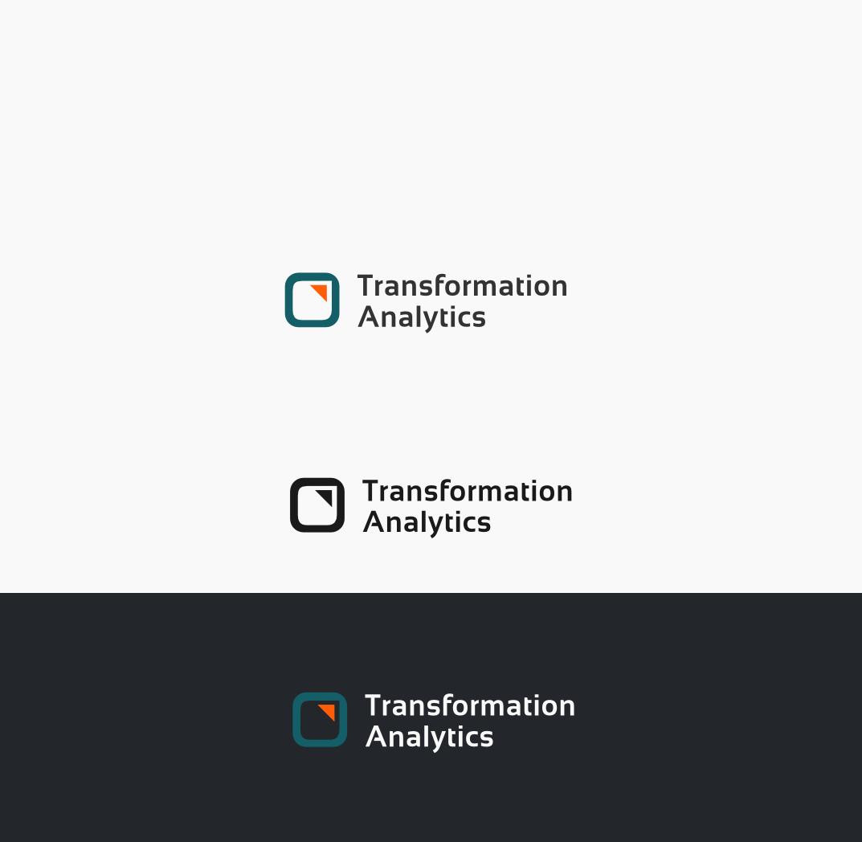 Logo design for start up business Transformation Analytics
