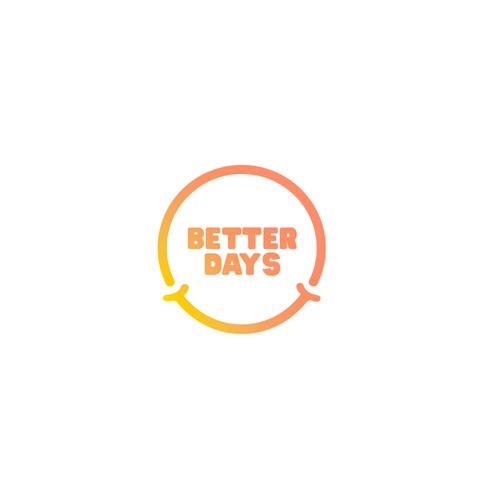 Better Days - Fun friendly logo for B2B fundraising platform