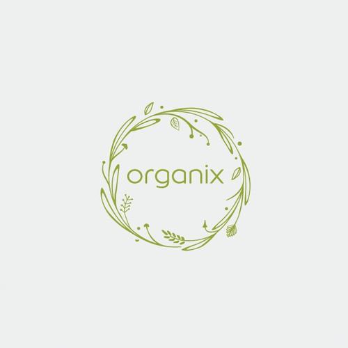 Modern logo with organic feel