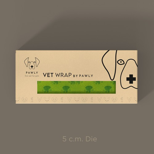 Innovative Pawly Vetinary Wraps Design