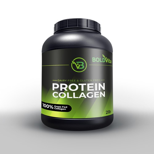 Protein Tub Packaging Design