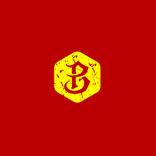 B.P initials logo