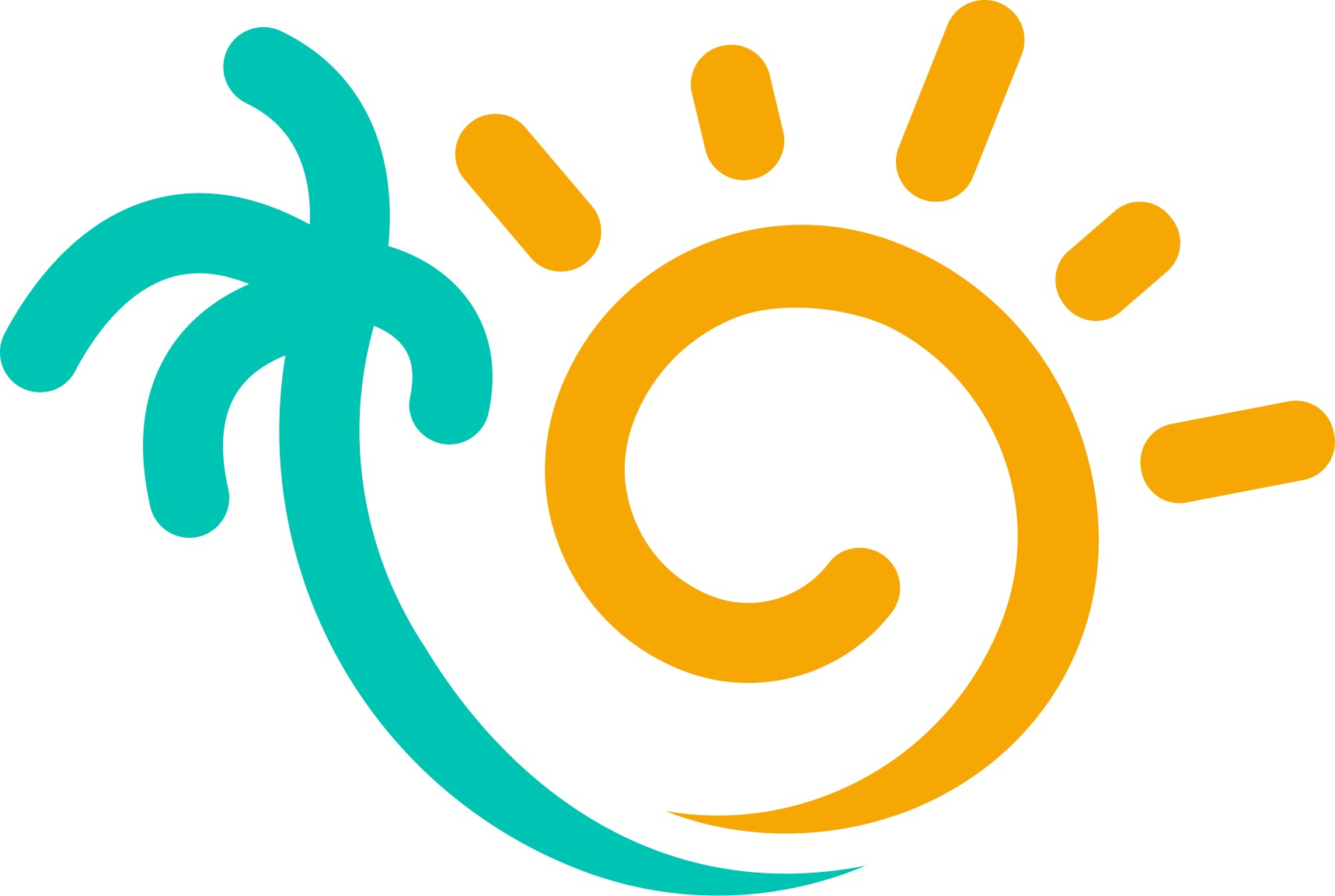 Modern/Tropical Logo for Island Heat Tanning Spa