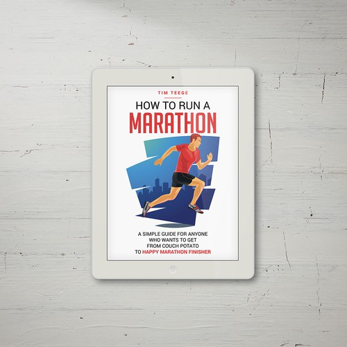 eBook Cover Wanted! Simple / minimalistic / elegant for a marathon running guide