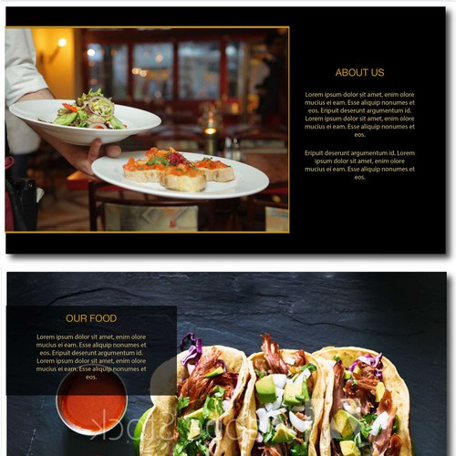 Powerpoint Presentation for a restaurant