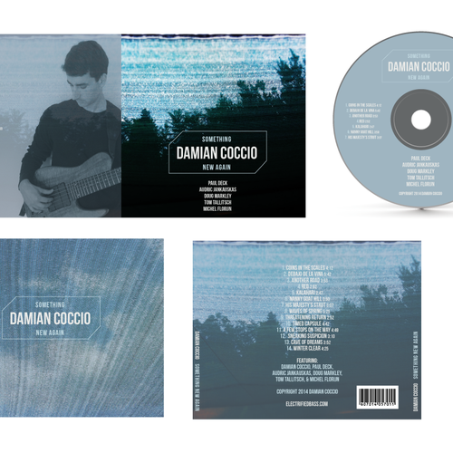 Damian Coccio needs a Jazz Album Cover Design