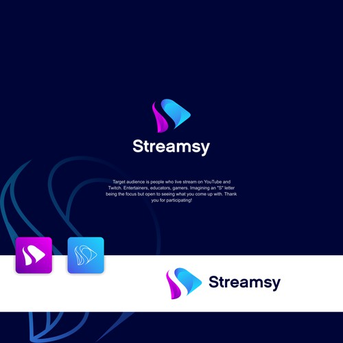 Streamsy - Design a fresh logo for our upcoming Live Streaming software product!