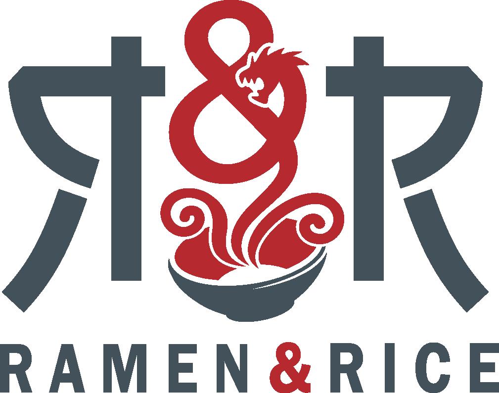 Create a funky design for Ramen & Rice