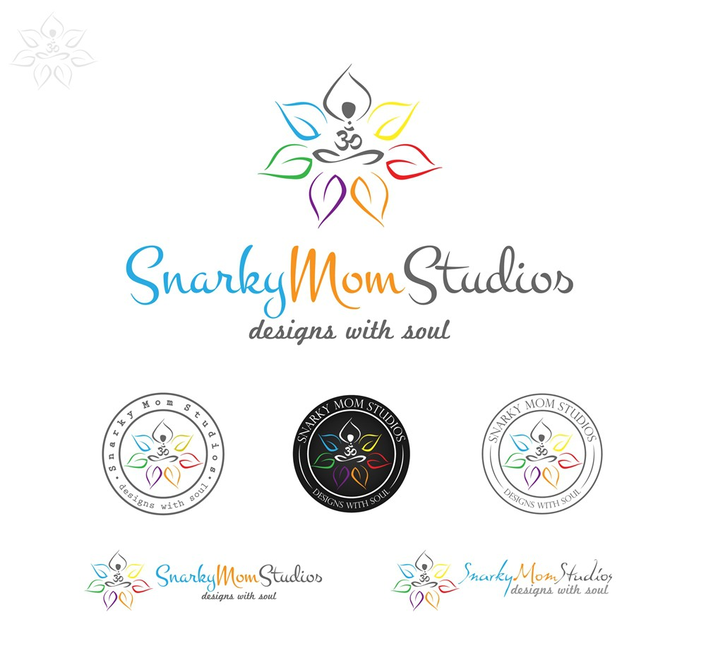 logo for Snarky Mom Studios