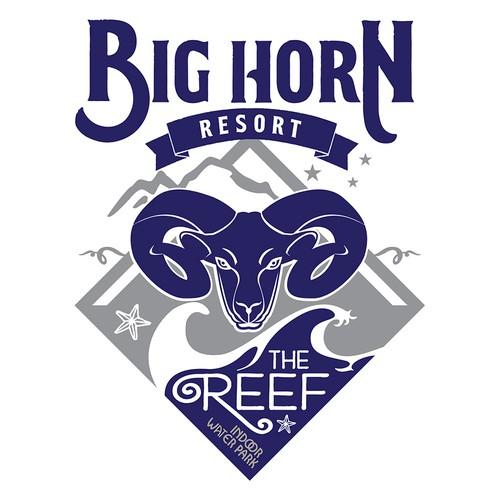 Big Horn Resort Logo Design