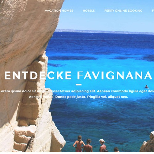 Site for Favignana Tourism