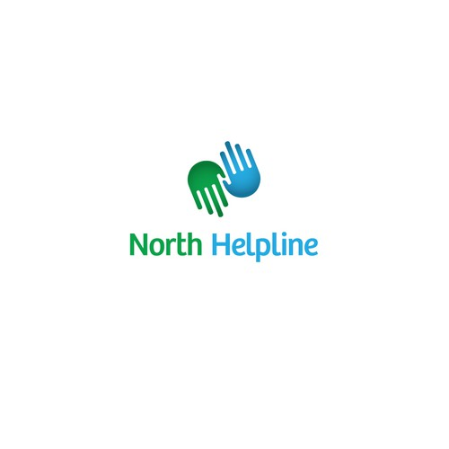 Winning logo for North Helpline!