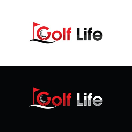Golf Life Belt Logo
