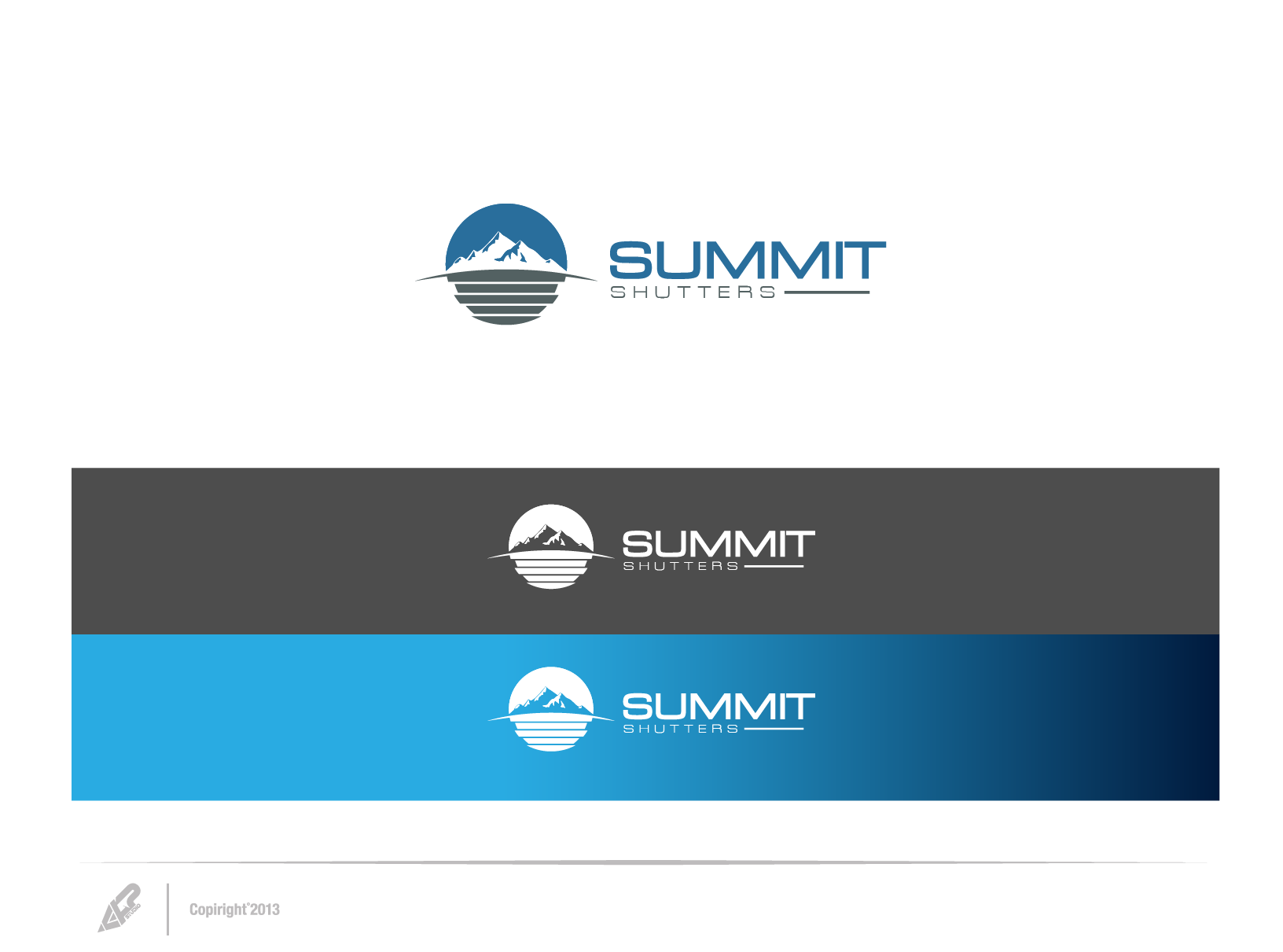 Help Summit Shutters with a new logo