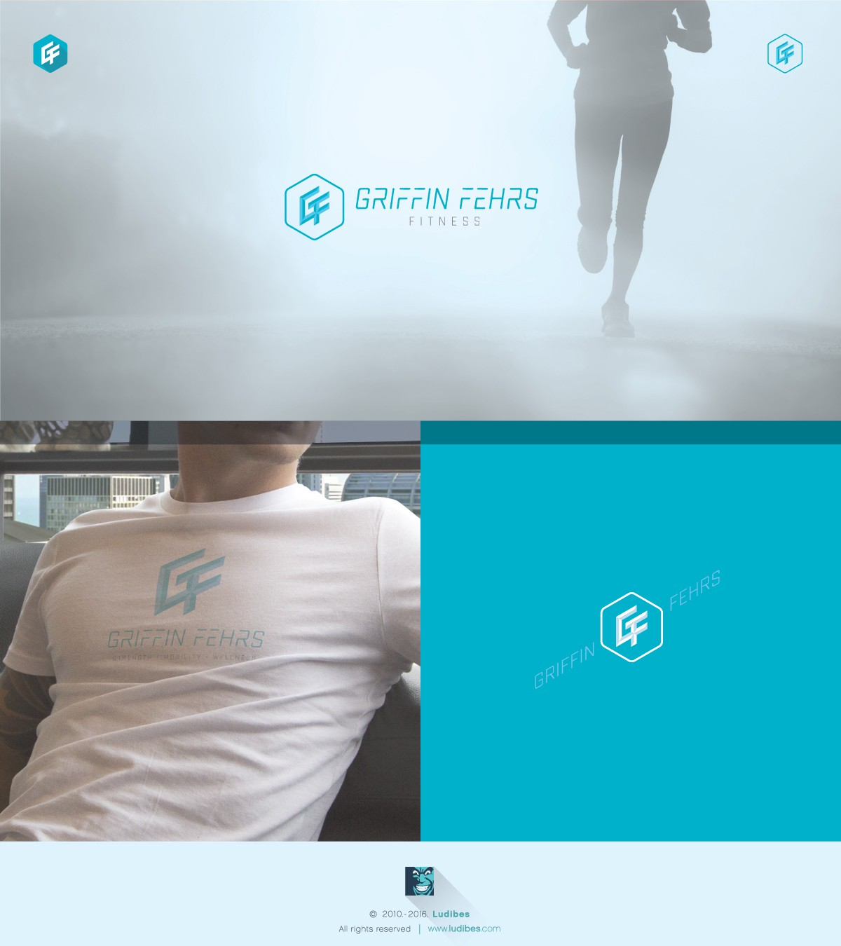 Logo for online fitness coach