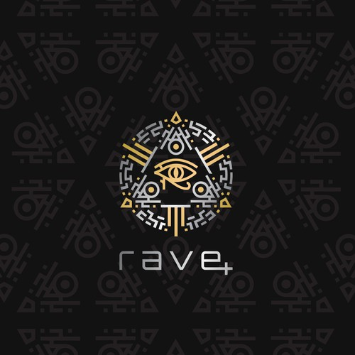 Logo for rave fashion