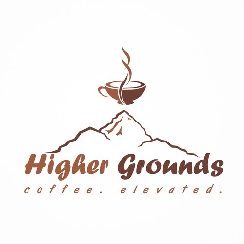 Coffee shop concept logo