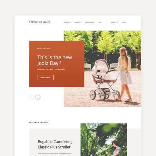 Stroller Haus - Homepage