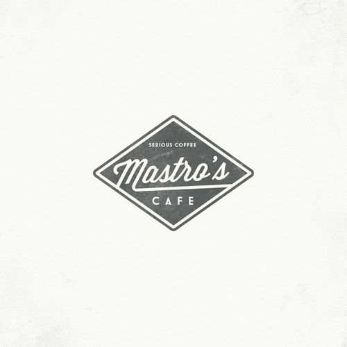 Create the next logo for Mastro's Cafe
