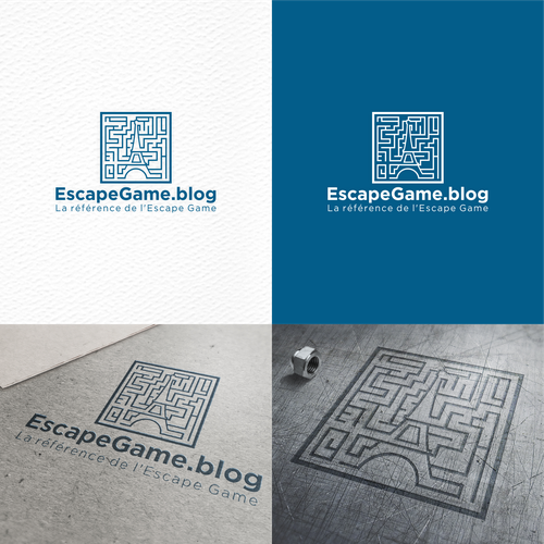 Logo Concept For EscapeGame.blog