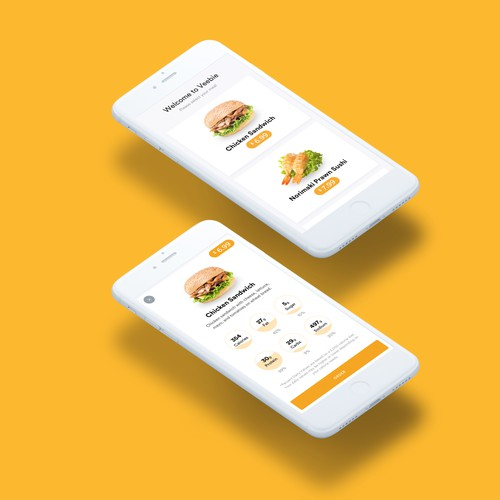 iOS App for Ordering Foods