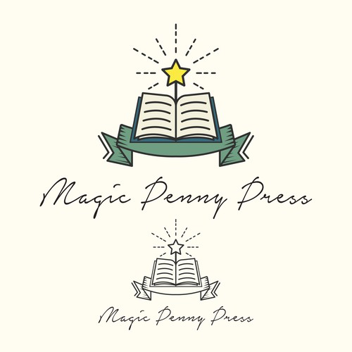 Magical Logo for Printing Press