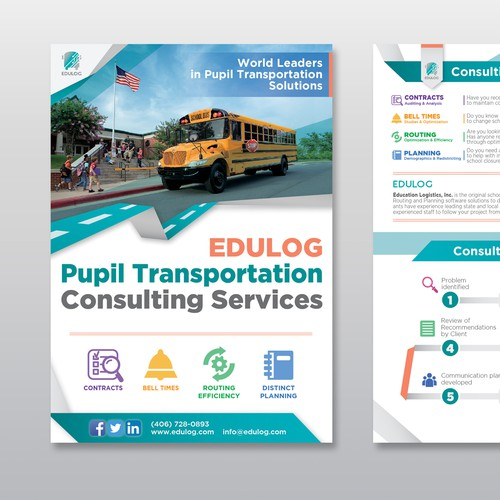 Edulog transportation flyer