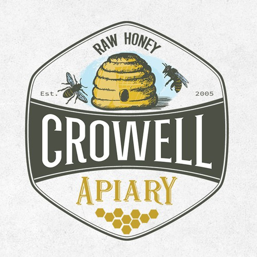 Crowell Apiary Logo