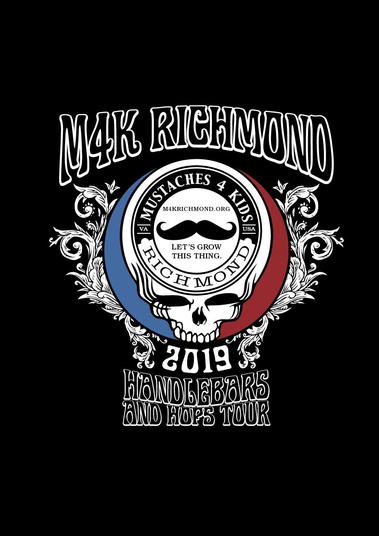 Trendy and Hip Grateful Dead Band Tour Theme T-Shirt