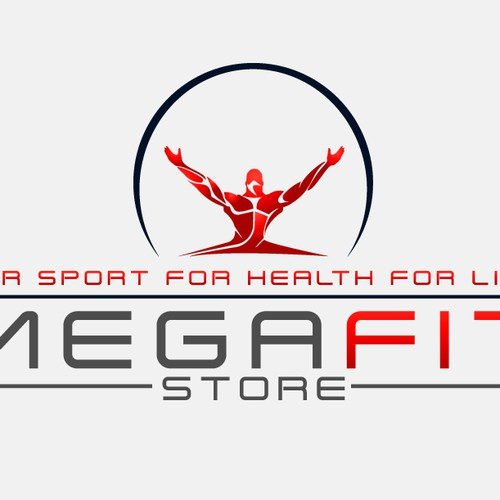 MEGAFIT-Store needs logo and business card