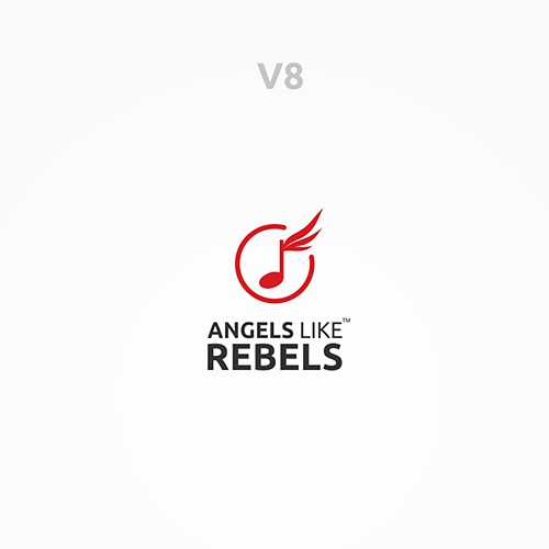 Angels Like Rebels: create a powerful logo for a talent discovery platform