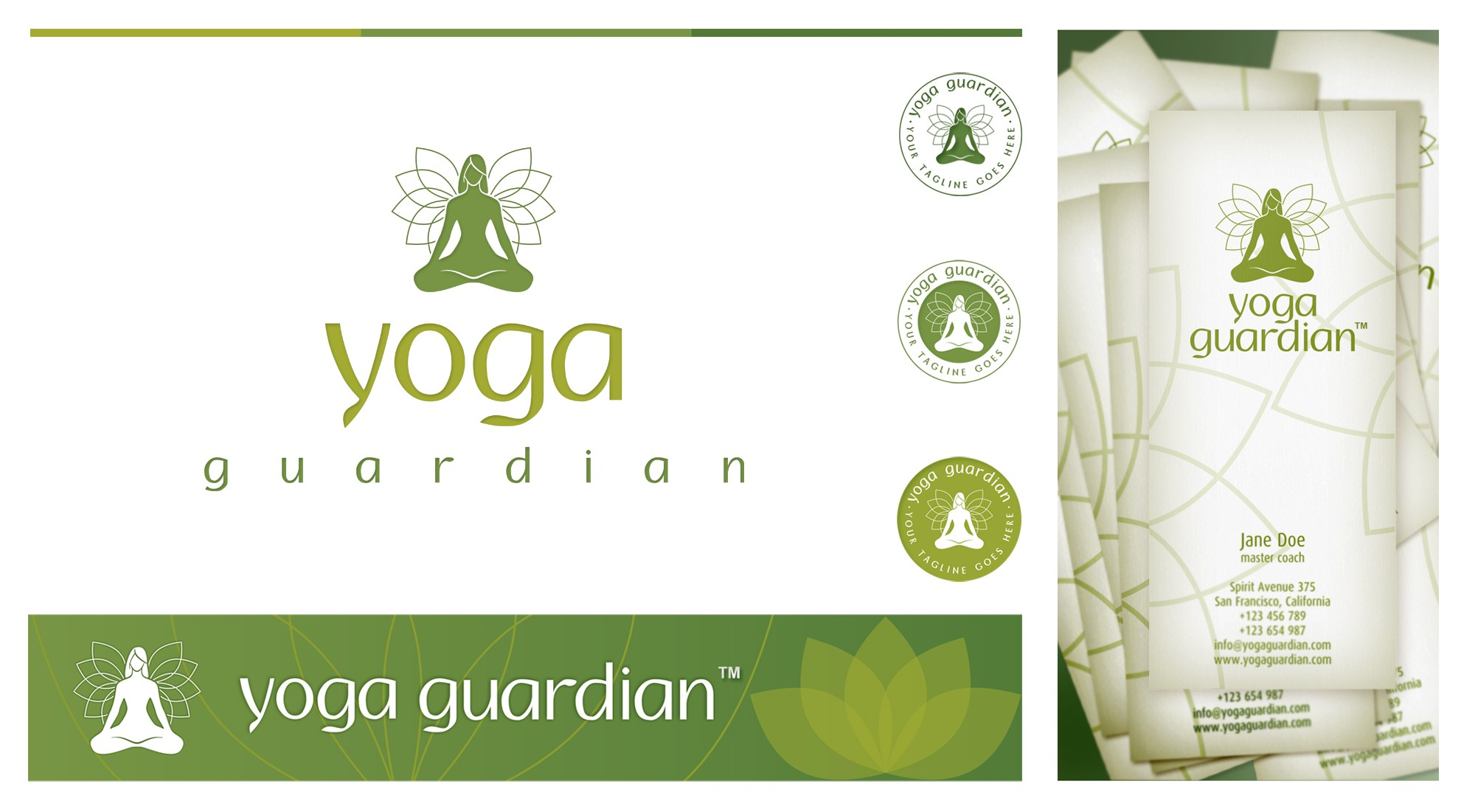 Help Yoga Guardian with a new logo