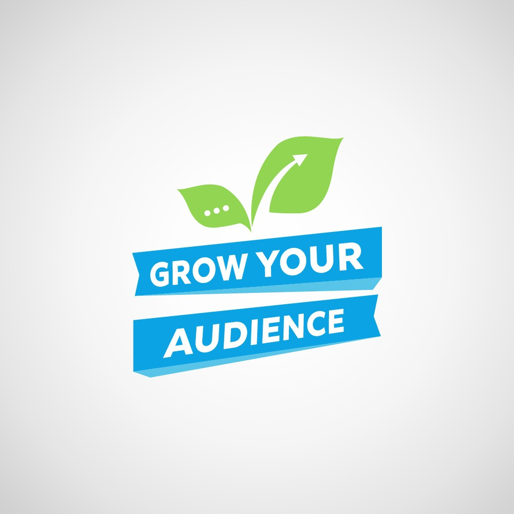 "Design a classic (yet energetic) logo for our course, ""Grow Your Audience"""